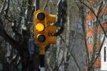 Inauguración de semaforo en la Av. Gral. Rivera