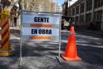 Reparaciones en la calle Jaime Zudañez