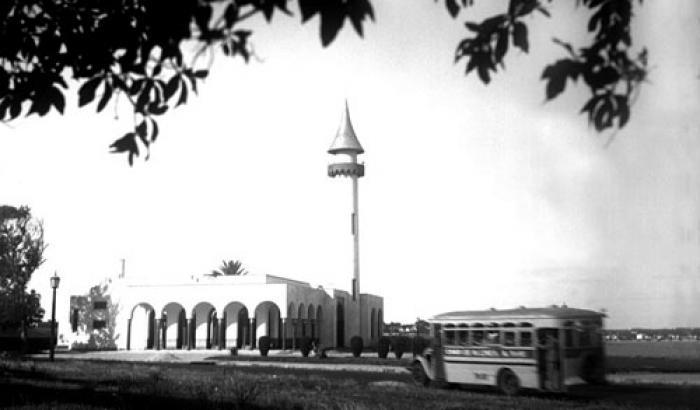 Museo Oceanográfico. Año 1930 (Foto 437c FMH.CMDF.IMM.UY)