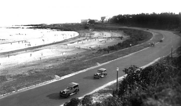 Playa Buceo. Año 1930 (Foto 5422 FMH.CMDF.IMM.UY)