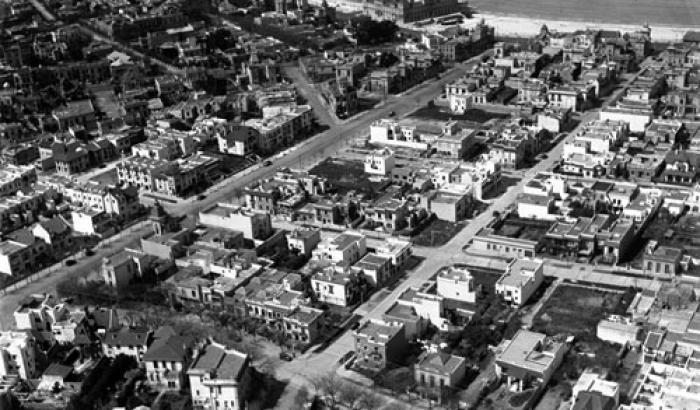 Vista aérea. Año 1929 (Foto 34d FMH.CMDF.IMM.UY)