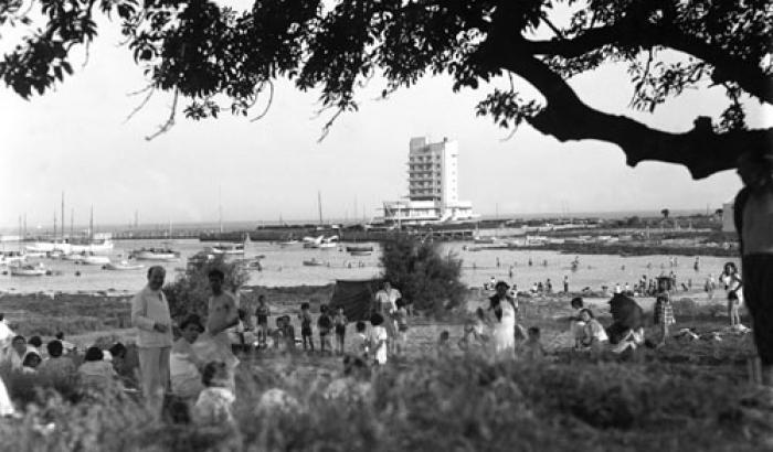 Puerto del Buceo. Año 1944 (Foto 8024 FMH.CMDF.IMM.UY)