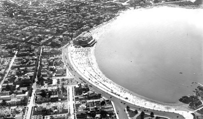 Vista aérea. Año 1930 (Foto 127e FMH.CMDF.IMM.UY)