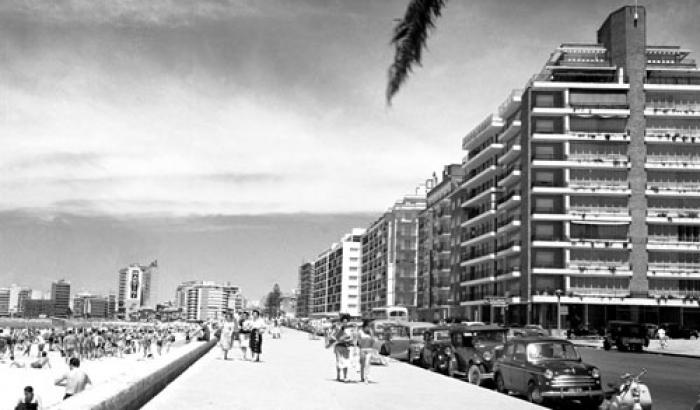 Rambla. Año 1958 (Foto 9520 FMH.CMDF.IMM.UY)