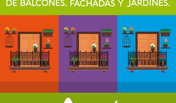 Concurso de balcones, fachadas y jardines