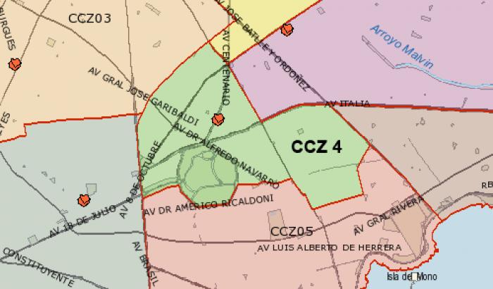 Mapa CCZ 4