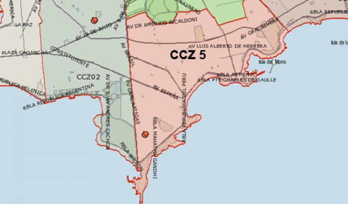 Mapa CCZ 5