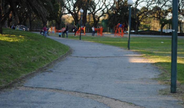 Mejoras de senderos en el Parque Batlle para realizar deportes (propuesta nº 7,