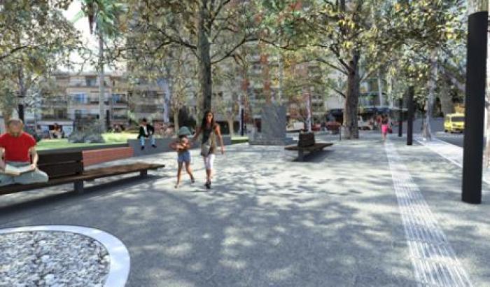 Plaza Cabrera - Ilustración correspondiente al proyecto